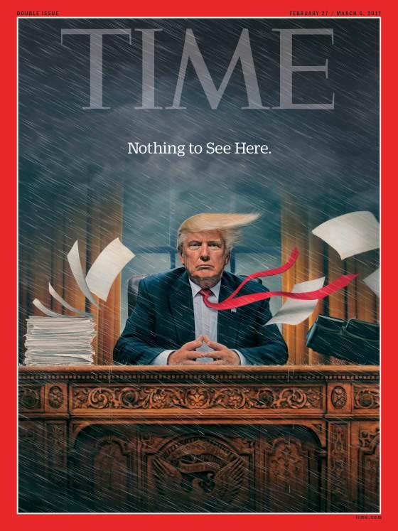 Trang bìa tạp chí TIME.