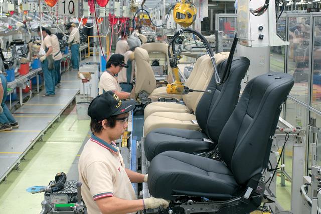 Công ty Toyota Boshoku Hà Nội là đơn vị chuyên sản xuất ghế da cho Toyota Việt Nam