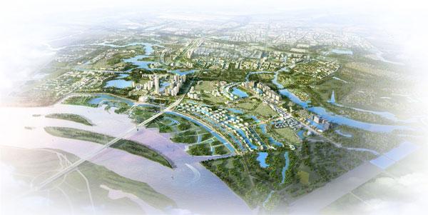 Theo đồ án quy hoạch mà tập đoàn BRG lập, đây sẽ là một đô thị thông minh, kiến trúc phức hợp theo mô hình là một thành phố hiện đại. Trong đó, nổi bật là trung tâm tài chính quốc tế, làng văn hóa ASEAN, khu vực hội chợ, các trung tâm văn hóa, thương mại và các trung tâm hội nghị quy mô, tầm cỡ Đông Nam Á.