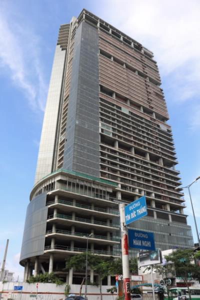 Tòa nhà bị thu giữ (ảnh: SBV)