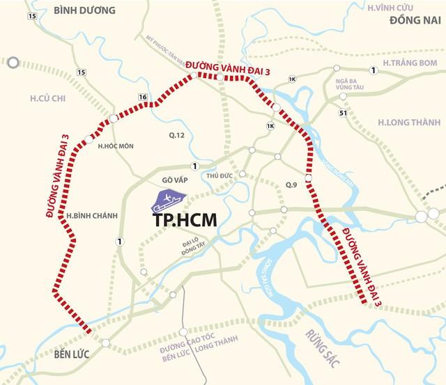 Hàng vạn người dân TP.HCM cùng các tỉnh phía Nam đều hưởng lợi lớn khi dự án giao thông này được đầu tư - Ảnh 1.
