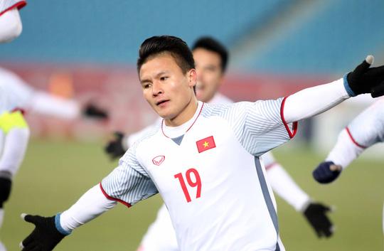 Giành ngôi vị á quân châu Á, giá chuyển nhượng các cầu thủ U23 Việt Nam tăng vọt - Ảnh 1.