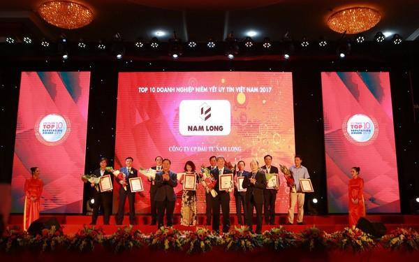 Nam Long nhận cú đúp giải thưởng uy tín năm 2017 - Ảnh 1.