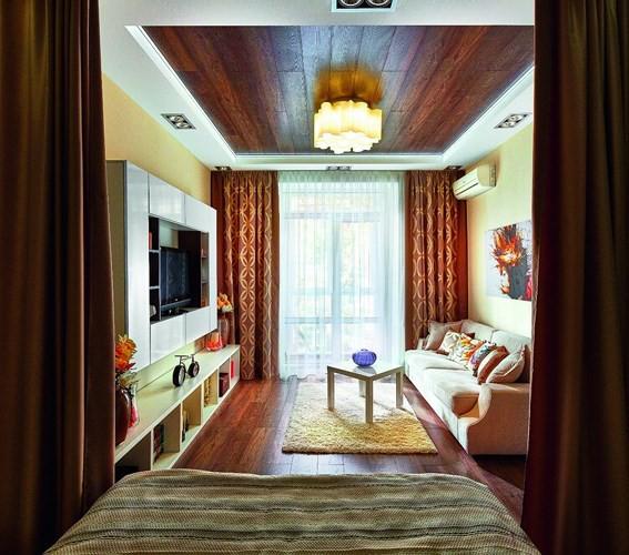 Ý tưởng sáng tạo với trần gỗ - Ảnh 3.