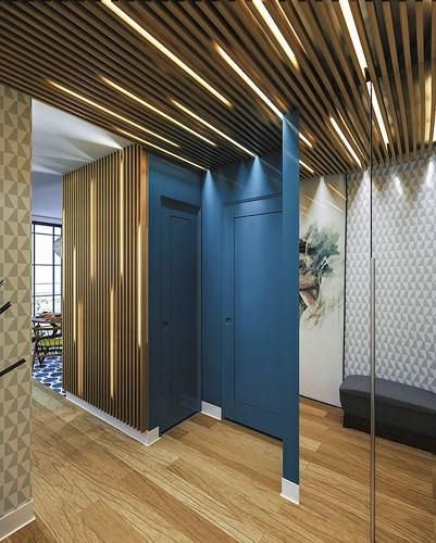 Ý tưởng sáng tạo với trần gỗ - Ảnh 10.