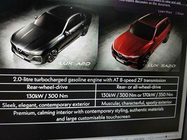 Lộ thông số kỹ thuật được cho là của xe VinFast - Ảnh 1.