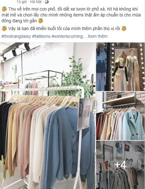 Hà Nội chớm rét, kinh doanh quần áo hốt bạc - Ảnh 1.