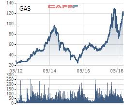 Cổ phiếu GAS- Tỷ đô đến và đi - Ảnh 1.