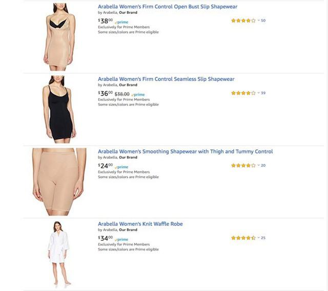 Bí mật về Amazon có thể bạn chưa biết: Có nhãn hàng riêng từ đồ lót phụ nữ, quần áo, thực phẩm tươi cho tới... đồ ăn cho chó - Ảnh 1.