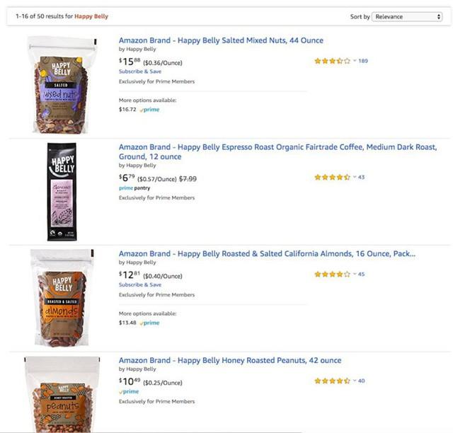 Bí mật về Amazon có thể bạn chưa biết: Có nhãn hàng riêng từ đồ lót phụ nữ, quần áo, thực phẩm tươi cho tới... đồ ăn cho chó - Ảnh 8.