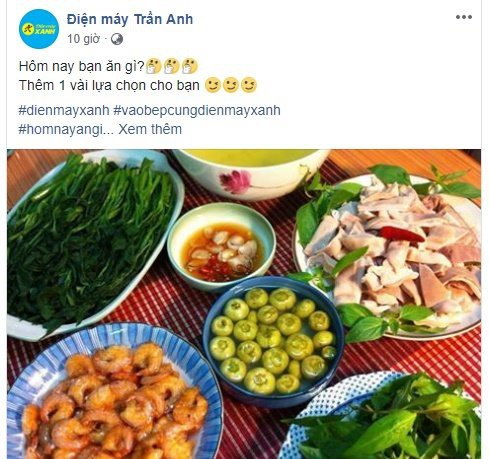 Sau thâu tóm, Thế Giới Di Động đổi fanpage Trần Anh thành nơi chia sẻ mẹo vặt, nấu ăn - Ảnh 1.