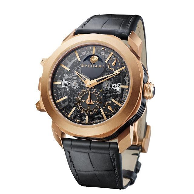 Nắm giữ nhiều kỷ lục thế giới, hãng đồng hồ cao cấp Bulgari lại tiếp tục tung ra cỗ máy thời gian phức tạp nhất từ trước tới giờ - Ảnh 1.