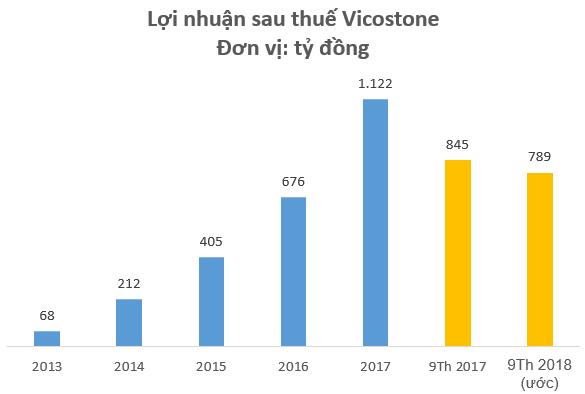 Vicostone bị phạt và truy thu thuế gần 4,6 tỷ đồng, cổ phiếu tiếp tục giảm sâu - Ảnh 1.
