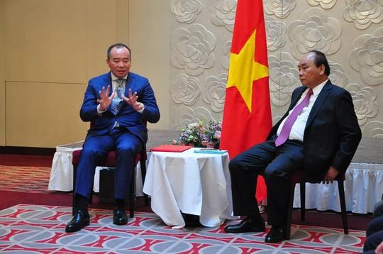 Được Thủ tướng tiếp, Chủ tịch Tập đoàn Tân Việt cho biết xe Vinfast ra là Vifon mua ngay - Ảnh 1.