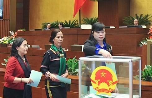 Chủ tịch nước được bầu, tuyên thệ trước Quốc hội ngay đầu Kỳ họp thứ 6 - Ảnh 1.
