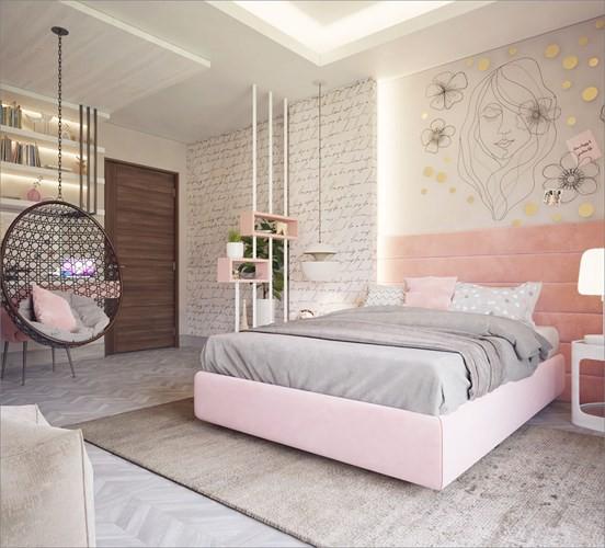 Bày biện, trang trí phòng ngủ độc đáo khiến nhiều người mê mẩn - Ảnh 3.