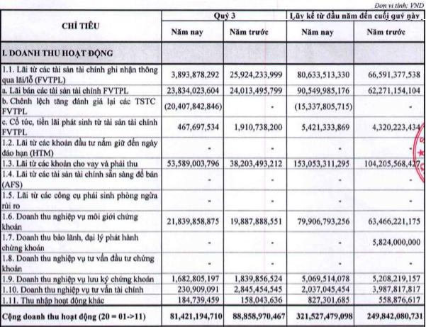 Chứng khoán Rồng Việt (VDSC): Tự doanh kém sắc, lãi ròng 9 tháng giảm về 76 tỷ đồng - Ảnh 1.