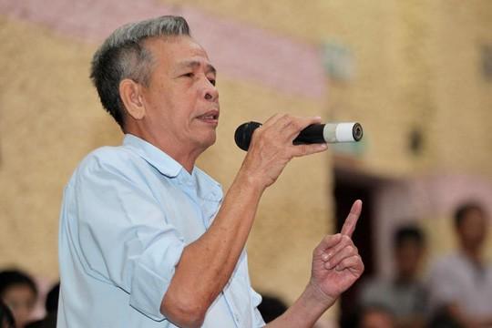 Bí thư Nguyễn Thiện Nhân đang tiếp xúc cử tri quận 2 - Ảnh 4.