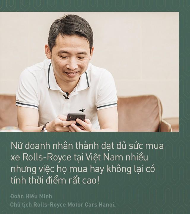 Chủ tịch Đoàn Hiếu Minh: Không có phụ nữ, chúng tôi không bán được xe Rolls-Royce tại Việt Nam - Ảnh 7.