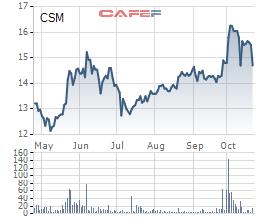 Gánh nặng chi phí lãi vay và lỗ tỷ giá, LNST 9 tháng đầu năm của Casumina chỉ bằng 1/4 cùng kỳ - Ảnh 1.