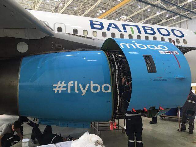 Hé lộ những hình ảnh đầu tiên về máy bay của Bamboo Airways - Ảnh 2.