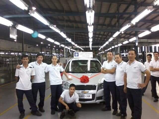 Chiếc Chevrolet cuối cùng xuất xưởng, một kỷ nguyên mới của xe GM tại Việt Nam sắp mở ra dưới thời VinFast phân phối - Ảnh 1.
