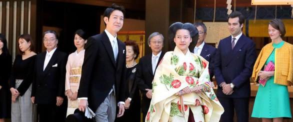 Hôm nay công chúa Nhật Bản kết duyên với thường dân, chấp nhận rời hoàng tộc cùng khoản tiền mừng cưới 22 tỷ đồng - Ảnh 1.