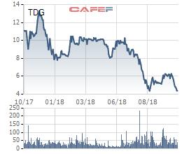 TDG liên tục dò đáy, các lãnh đạo Dầu khí Thái Dương đang tích cực gom hàng - Ảnh 2.