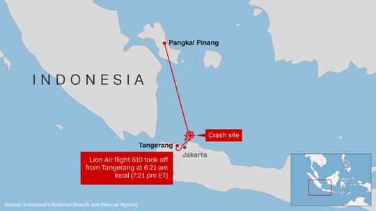 Rơi máy bay Indonesia: Chiếc Boeing tông phải bom mưa? - Ảnh 3.