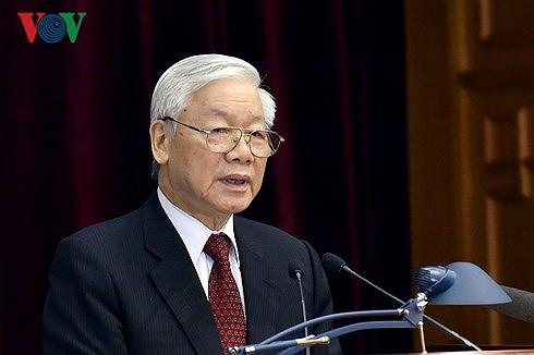Người phát ngôn nói về việc Tổng Bí thư được giới thiệu để Quốc hội bầu giữ chức Chủ tịch nước - Ảnh 1.