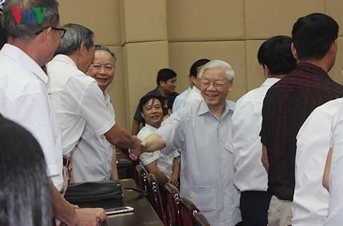 Nói đi đôi với làm của Tổng Bí thư Nguyễn Phú Trọng tạo nên uy tín - Ảnh 1.