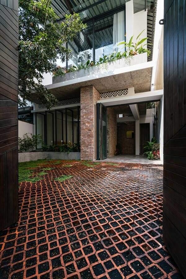 Ngôi nhà cấp 4 cải tạo đẹp như resort giữa Sài Gòn xuất hiện trên báo Mỹ - Ảnh 3.