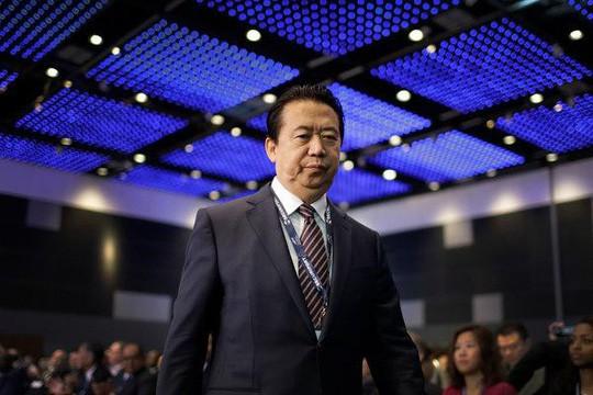 Chủ tịch Interpol bị bắt ngay khi xuống sân bay Trung Quốc - Ảnh 1.