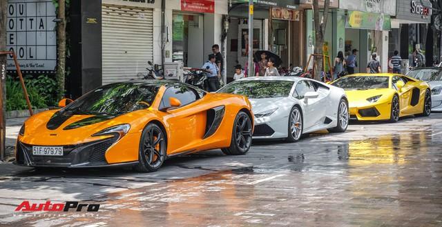 Đại gia khắp Sài Gòn hội tụ dân chơi Bình Phước khoe cả dàn siêu xe hàng độc - Ảnh 34.