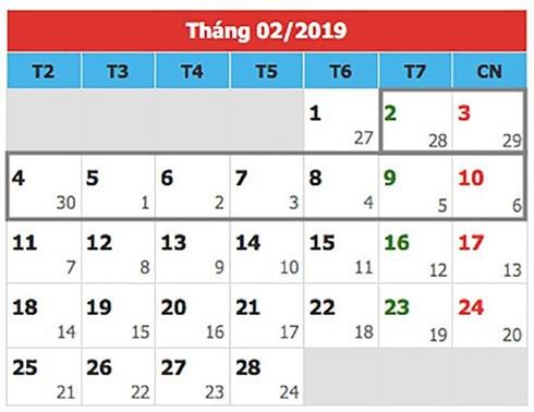 Nghỉ tết nguyên đán 2019: 9 ngày, nhiều hay ít? - Ảnh 1.