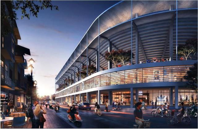 Hơn 6.000 tỉ đồng xây mới sân vận động Hàng Đẫy giống sân bóng Ngoại hạng Anh - Ảnh 6.