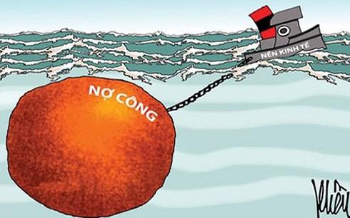 """Gánh nặng nợ công """"đè"""" tăng trưởng kinh tế - Ảnh 1."""