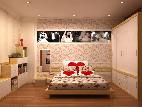 Những tông màu giúp phòng cưới của bạn thêm lãng mạn - Ảnh 14.