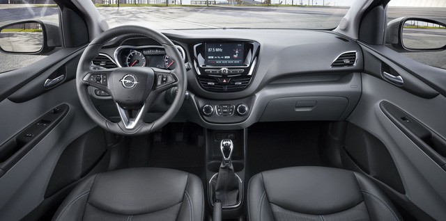 Guess the equipment on a cheap VinFast Fadil car looking at Chevrolet Spark, Opel Karl - Photo 3.