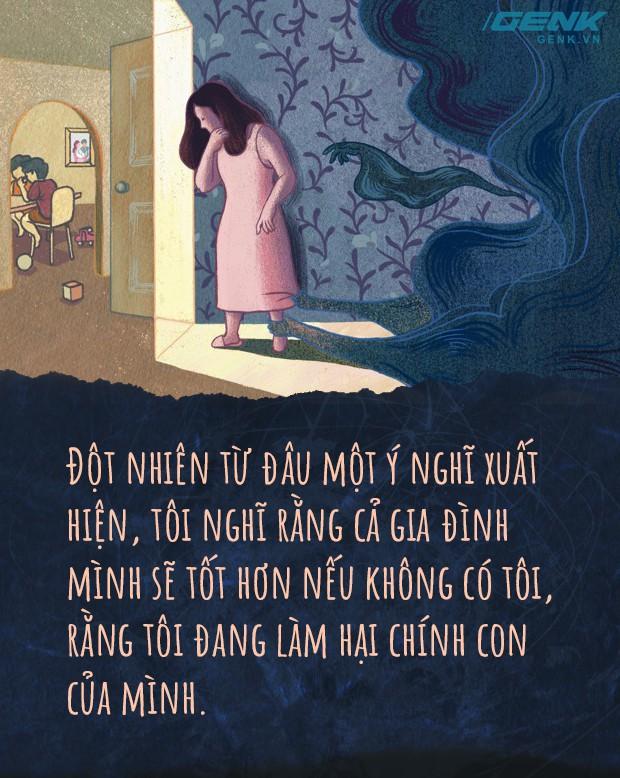 Đọc nhật ký một bà mẹ trầm cảm sau sinh: Giữa tình yêu vô biên là nỗi buồn sâu thẳm nhất - Ảnh 2.