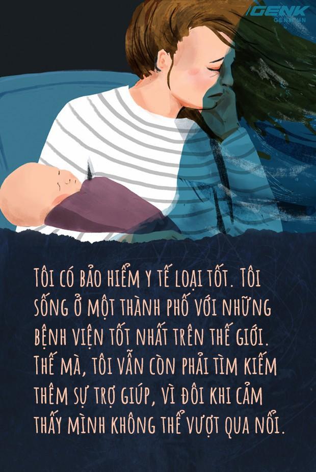 Đọc nhật ký một bà mẹ trầm cảm sau sinh: Giữa tình yêu vô biên là nỗi buồn sâu thẳm nhất - Ảnh 3.