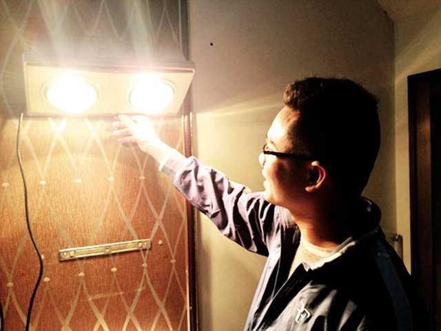 Đèn sưởi nhà tắm phát nổ như pháo hoa và lời cảnh báo cho các gia đình có trẻ nhỏ - Ảnh 7.