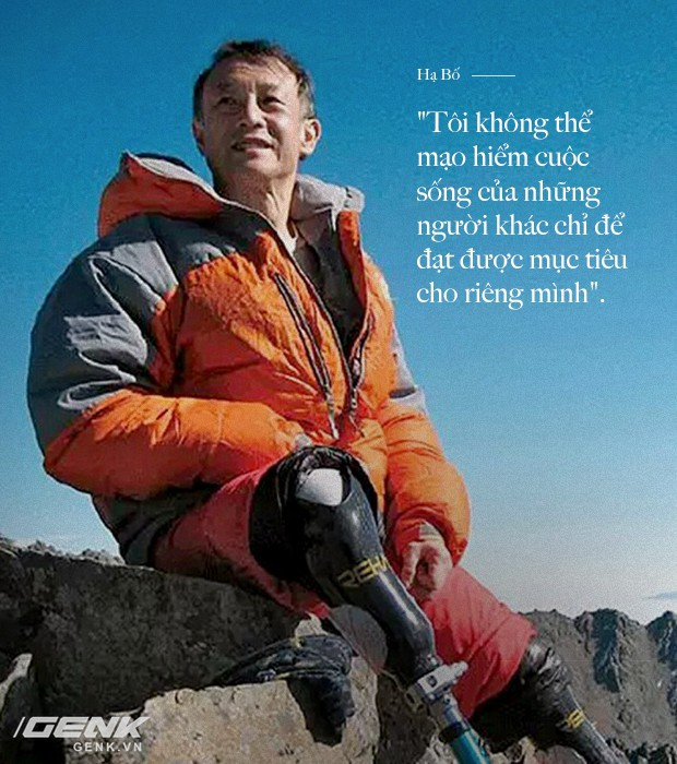 Bị ung thư và mất cả 2 chân, nhưng định mệnh nói người đàn ông 69 tuổi này phải chinh phục đỉnh Everest - Ảnh 4.