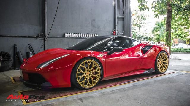 Dàn siêu xe Ferrari rủ nhau đi làm đẹp tại Sài Gòn - Ảnh 13.