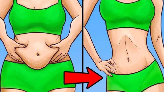 Image result for giảm mỡ bụng