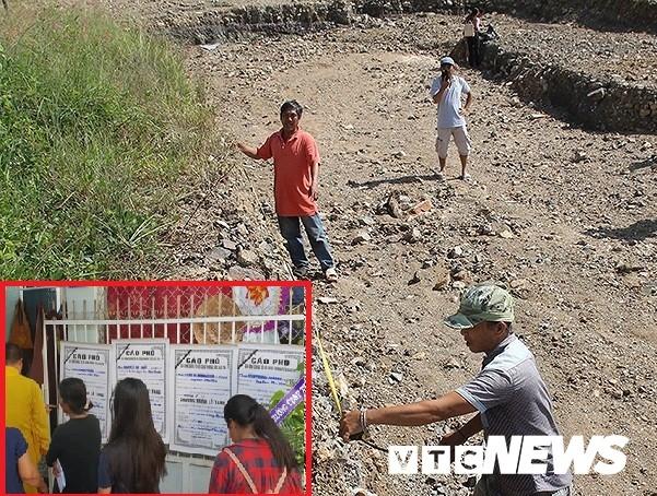 Bom nước vỡ, 4 người chết ở Khánh Hòa: Sở Xây dựng nói không có hồ bơi, chủ đầu tư nói hồ bơi là mương đón nước - Ảnh 1.