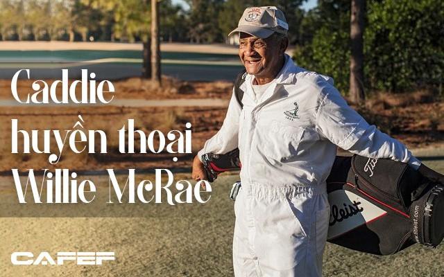Nhìn lại sự nghiệp của caddie huyền thoại Willie McRae trong suốt 75 năm sát cánh cùng các Tổng thống Mỹ trên sân golf