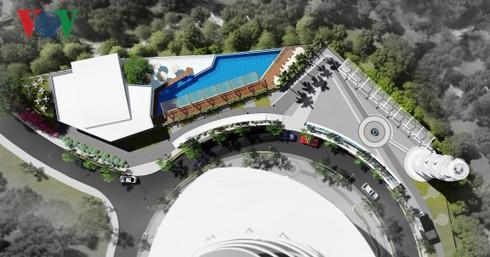 Vụ nổ quả bom nước ở Nha Trang: Hồ bơi có trong thiết kế?  - Ảnh 2.