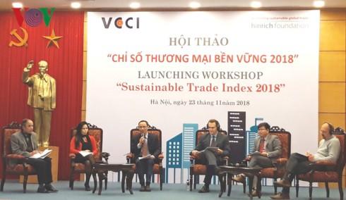 Việt Nam xếp thứ 9 về Chỉ số thương mại bền vững 2018 - Ảnh 1.