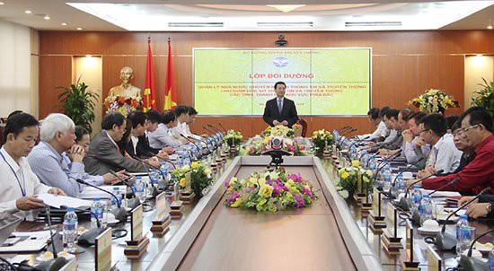 Bộ trưởng Bộ TT&TT Nguyễn Mạnh Hùng: Muốn thay đổi, phải bắt đầu từ người đứng đầu - Ảnh 1.